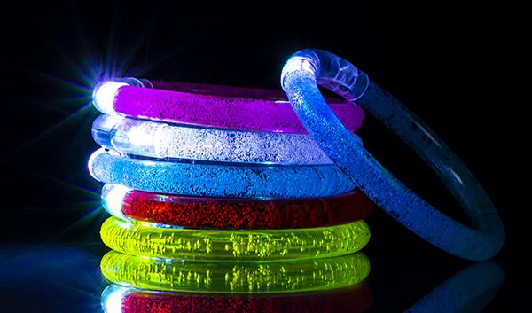 Светящиеся браслеты на руку оптом