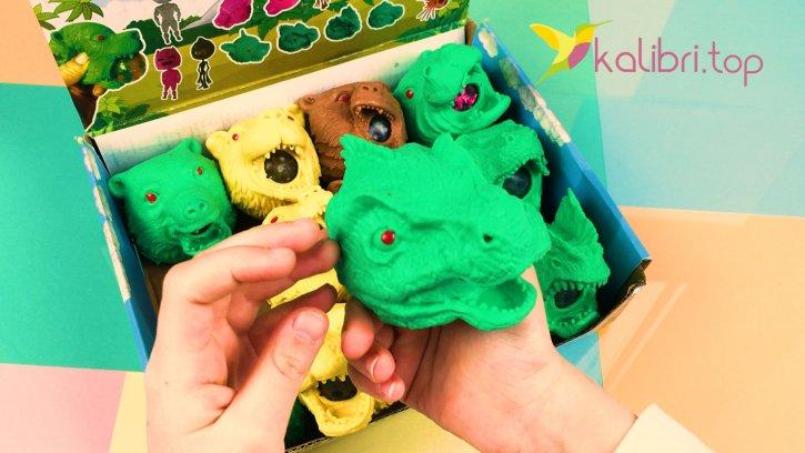 Антистресс с орбизами Динозавры оптом изображения 2