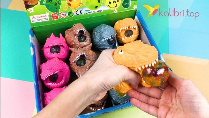 Антистресс динозавры видио 1