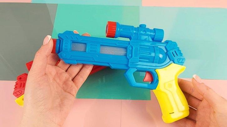 Детский светящийся пистолет оптом изображения 2