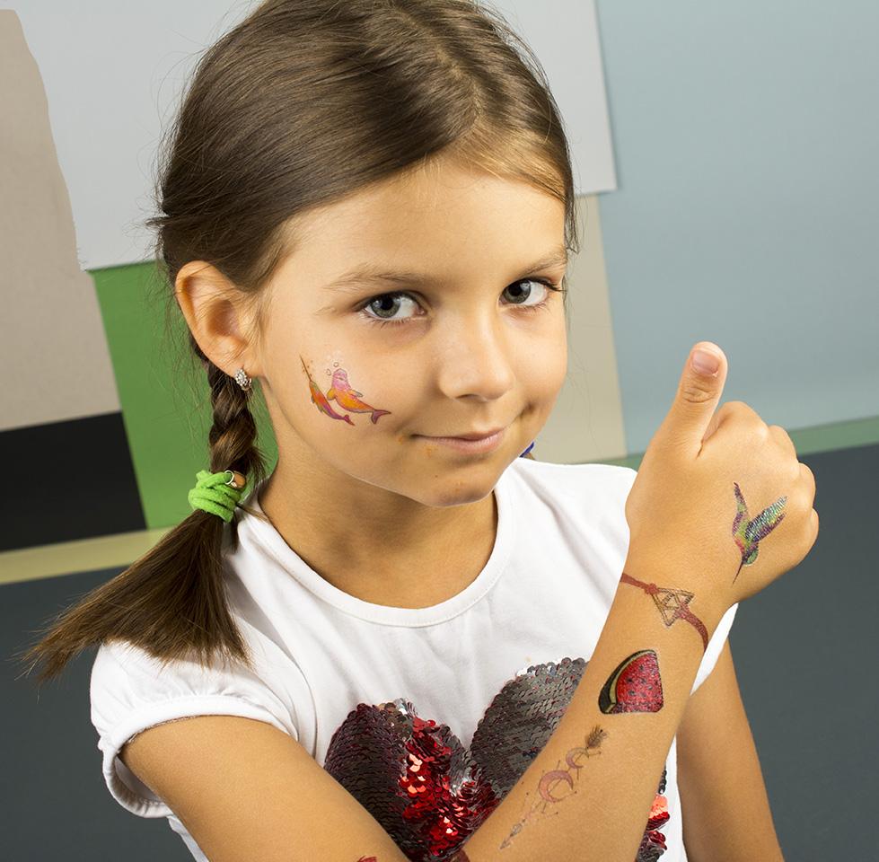 детские татуировки, переводки оптом фото 017
