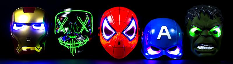 Светящиеся маски оптом