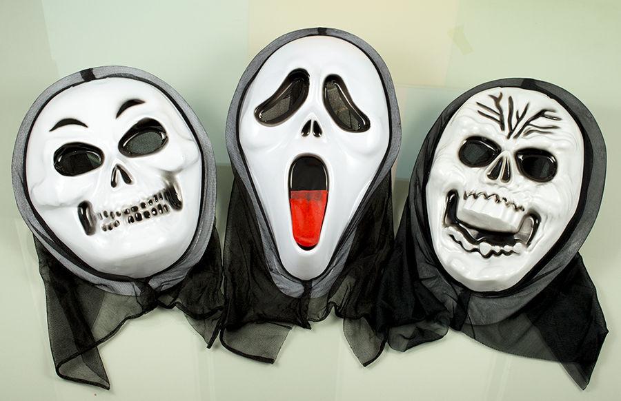 пластиковые маски для Хэллоуина оптом фото 014
