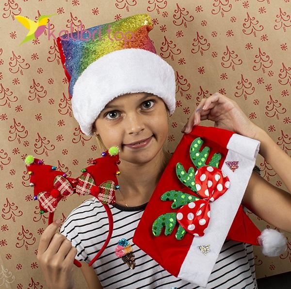Новогодние шапки оптом