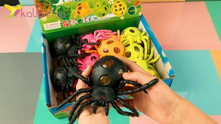Игрушка антистресс тарантул оптом изображения 2
