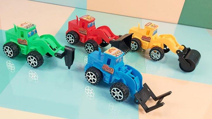 Машинки инерционные тракторы оптом изображения 2