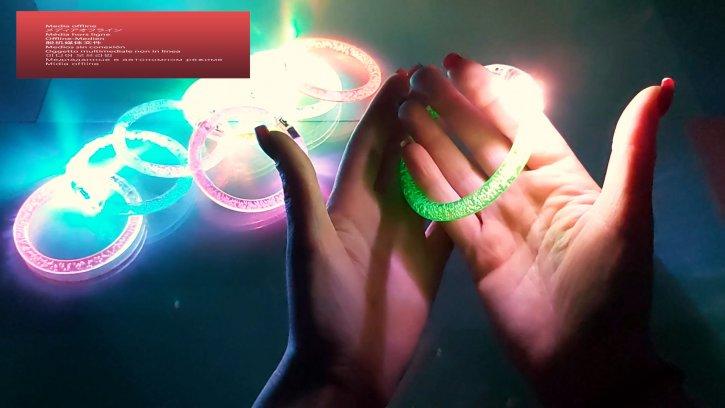 Светящиеся браслеты оптом изображения 2