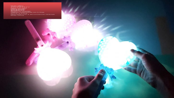 светящиеся палочка сердце оптом изображения 2
