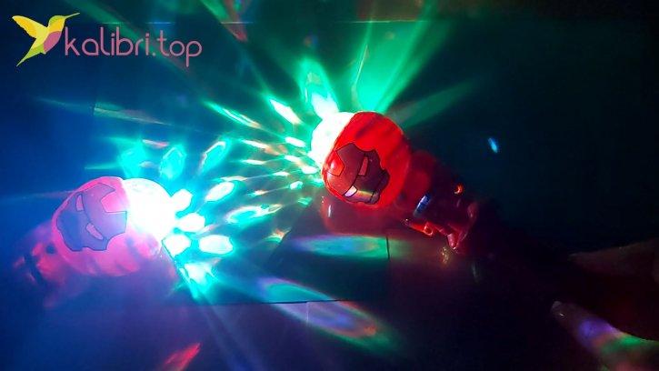 Светящийся микрофон Железный человек оптом изобрвжения 2