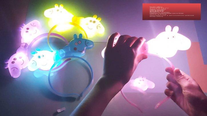 Светящийся обруч Свинка Пеппа оптом изображения 2