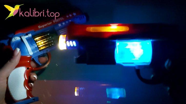 Светящийся пистолет Блок оптом изображения 2