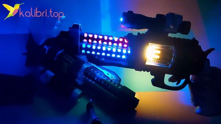 Светящийся пистолет Кольт оптом изображения 2