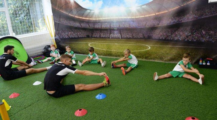 Nanokids одесса, тренировка по футболу для детей и малышей от 2 лет