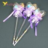 Светящиеся палочка сердечко фиолетовое оптом фото 2