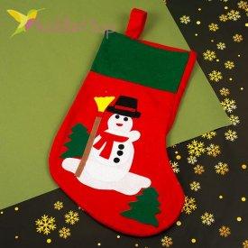 Носок для подарков большой Домовёнок, оптом фото 1