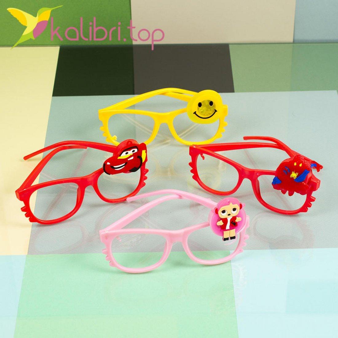 Светящиеся очки микс оптом фото 3
