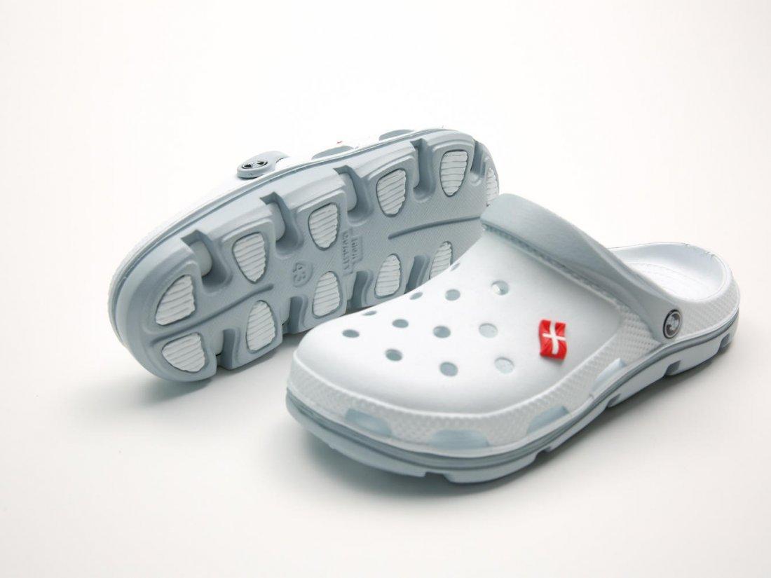 Белые кроксы оптом C03-45, 4rest, мужская обувь оптом, фото 3