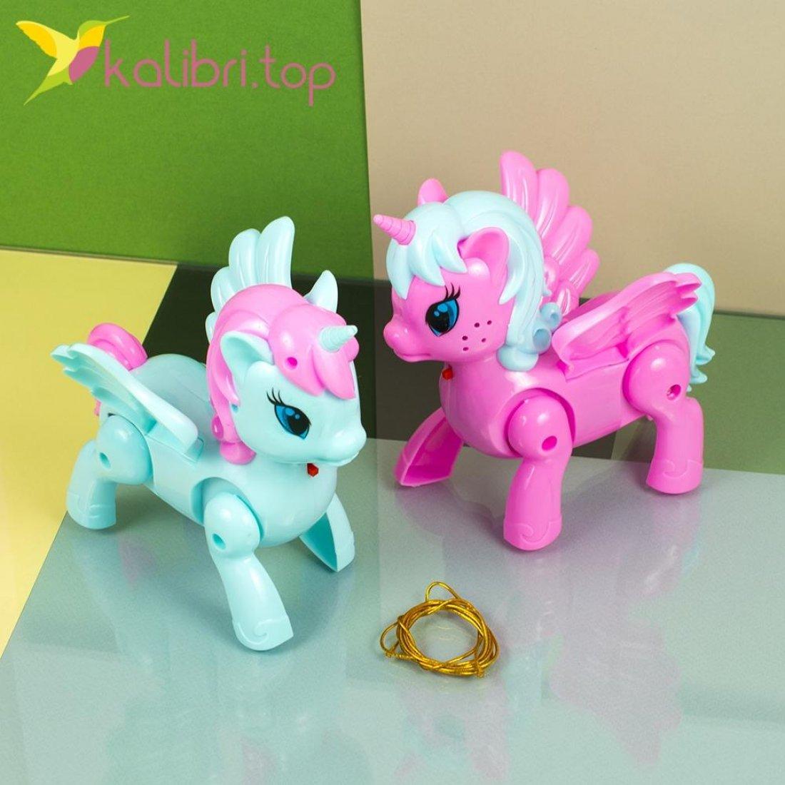Интерактивные игрушки ходилки Единороги оптом фото 1