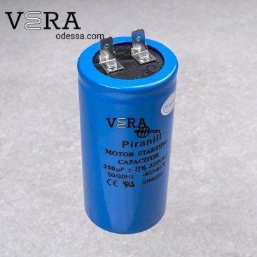 Купить конденсатор пусковой 350 МКФ /330 V оптом, фотография 1