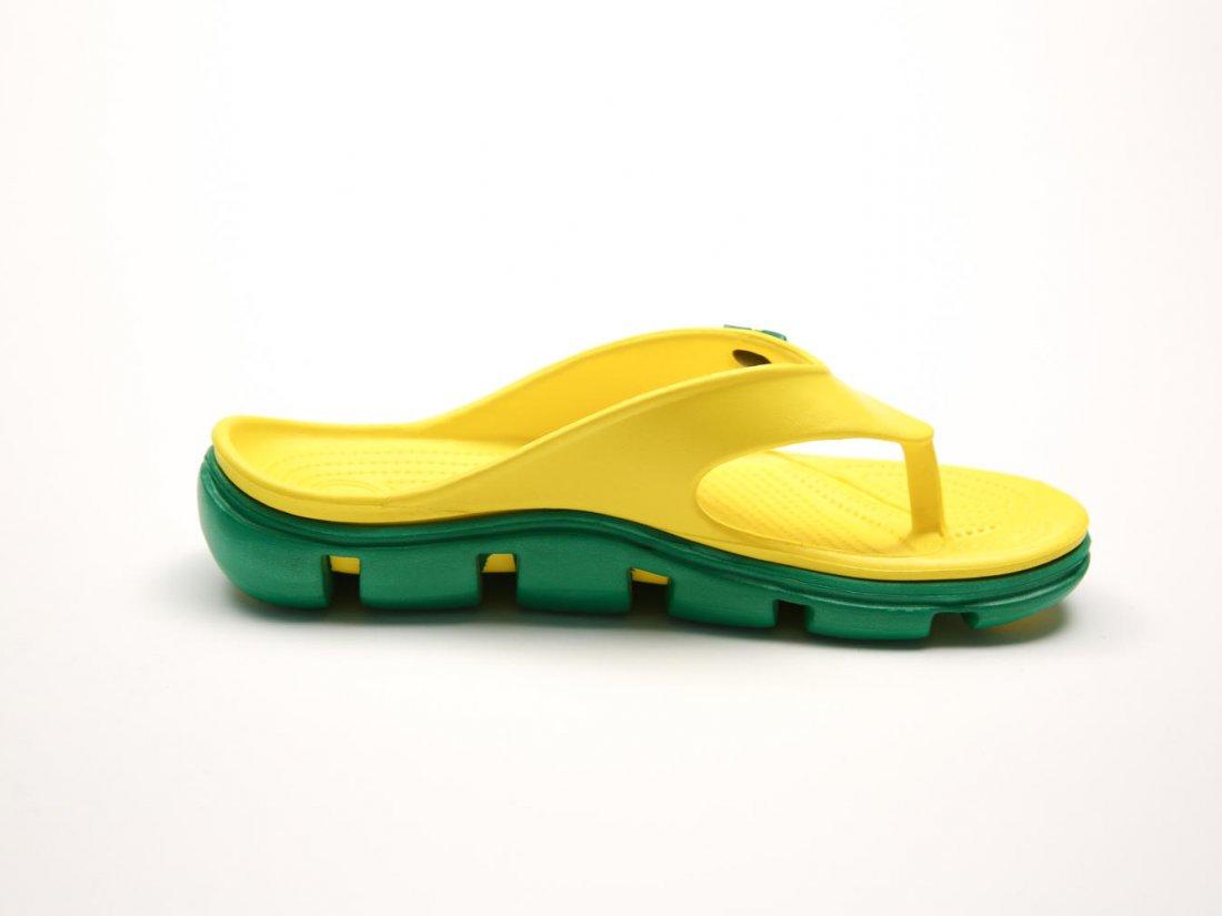 Желтые кроксы вьетнамки оптом C29-45, 4rest, мужская обувь оптом, фото 1