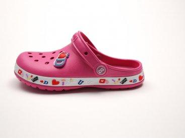 Розовые кроксы оптом C14-34, 4rest, детская обувь оптом, фото 1