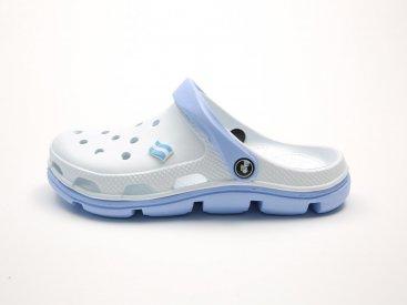 Белые кроксы оптом C32-40, 4rest, женская обувь оптом, фото 1