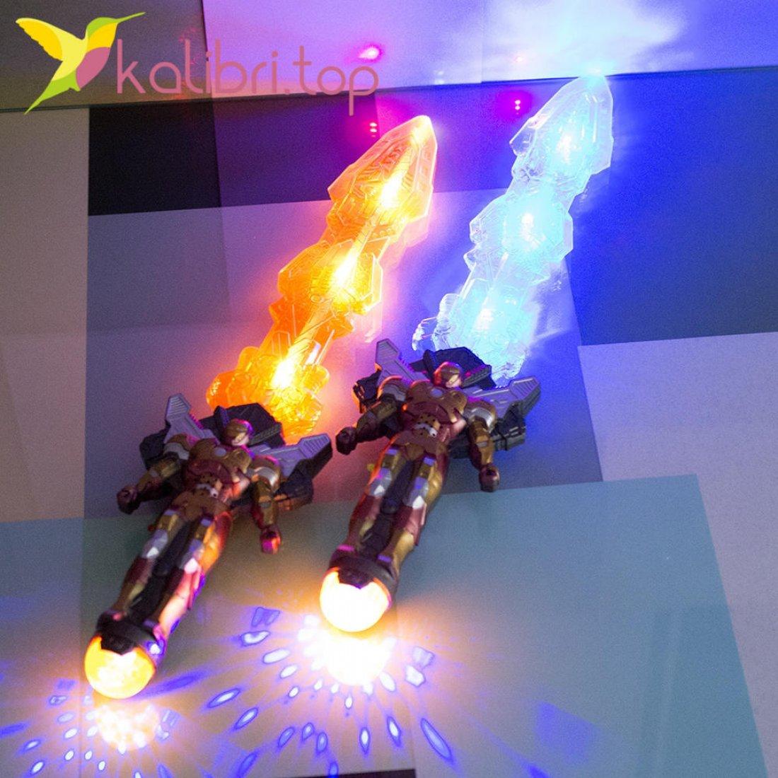 Светящийся меч Железный Человек оптом фото 2