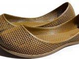 Женские балетки оптом 1519 ПВХ коричневый, 4rest, обувь оптом