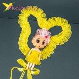 Светящиеся палочки куколки желтые оптом фото 421
