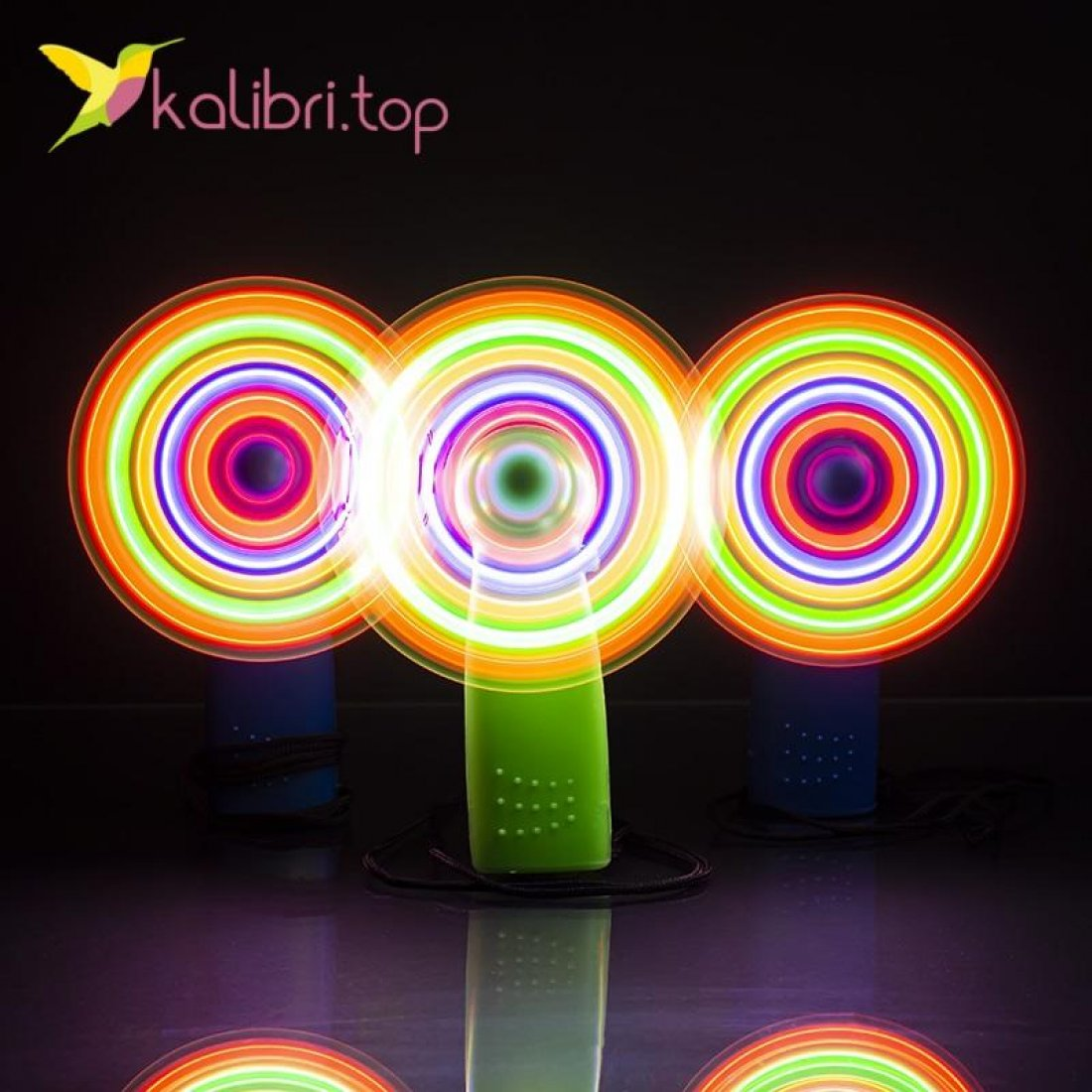 Светящийся вентилятор на шнурке оптом фото 88