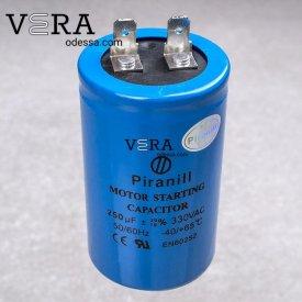 Купить конденсатор пусковой 250 МКФ /330 V оптом, фотография 1