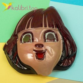 Детская маска Даша-путешественница оптом фото 1