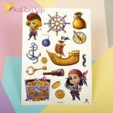Детские, временные татуировки - пираты оптом фото 1