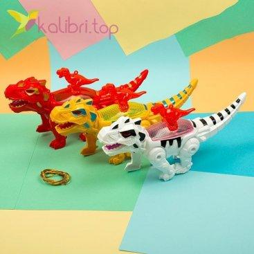 Механическая игрушка динозавр Рекс, оптом фото 1