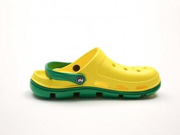 Желтые кроксы оптом C10-45, 4rest, мужская обувь оптом, фото 1