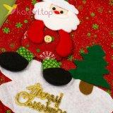 Сапожок для подарков большой с Дедом Морозом 8, оптом фото 2