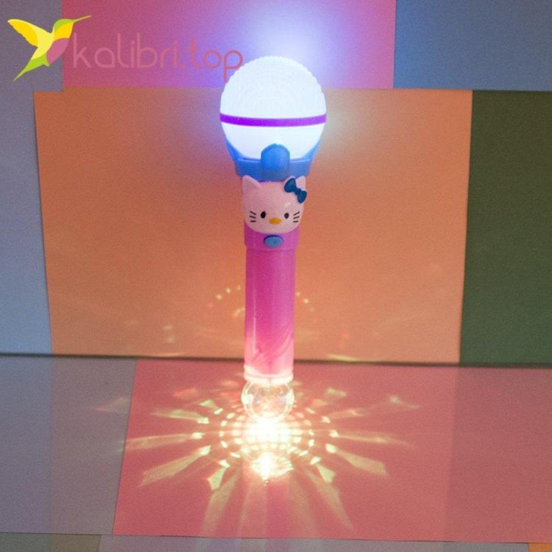 Светящийся микрофон Hello Kitty фото 3