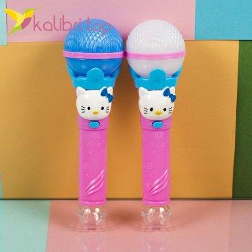 Светящийся микрофон Hello Kitty фото 1