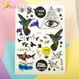Детские, временные татуировки - колибри, птички фото 1