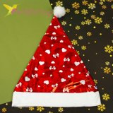 Новогодняя шапка Деда Мороза бантики, оптом фото 2