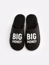 Мужские домашние тапочки Big Money черные закрытые, Family Story - 3