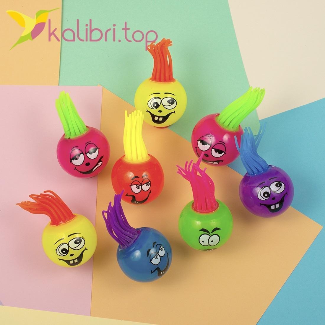 Детские смешные мячики оптом - фото 1
