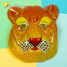 Детская маска Льва оптом фото 1