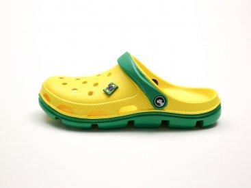 Желтые кроксы оптом C10-40, 4rest, женская обувь оптом, фото 1