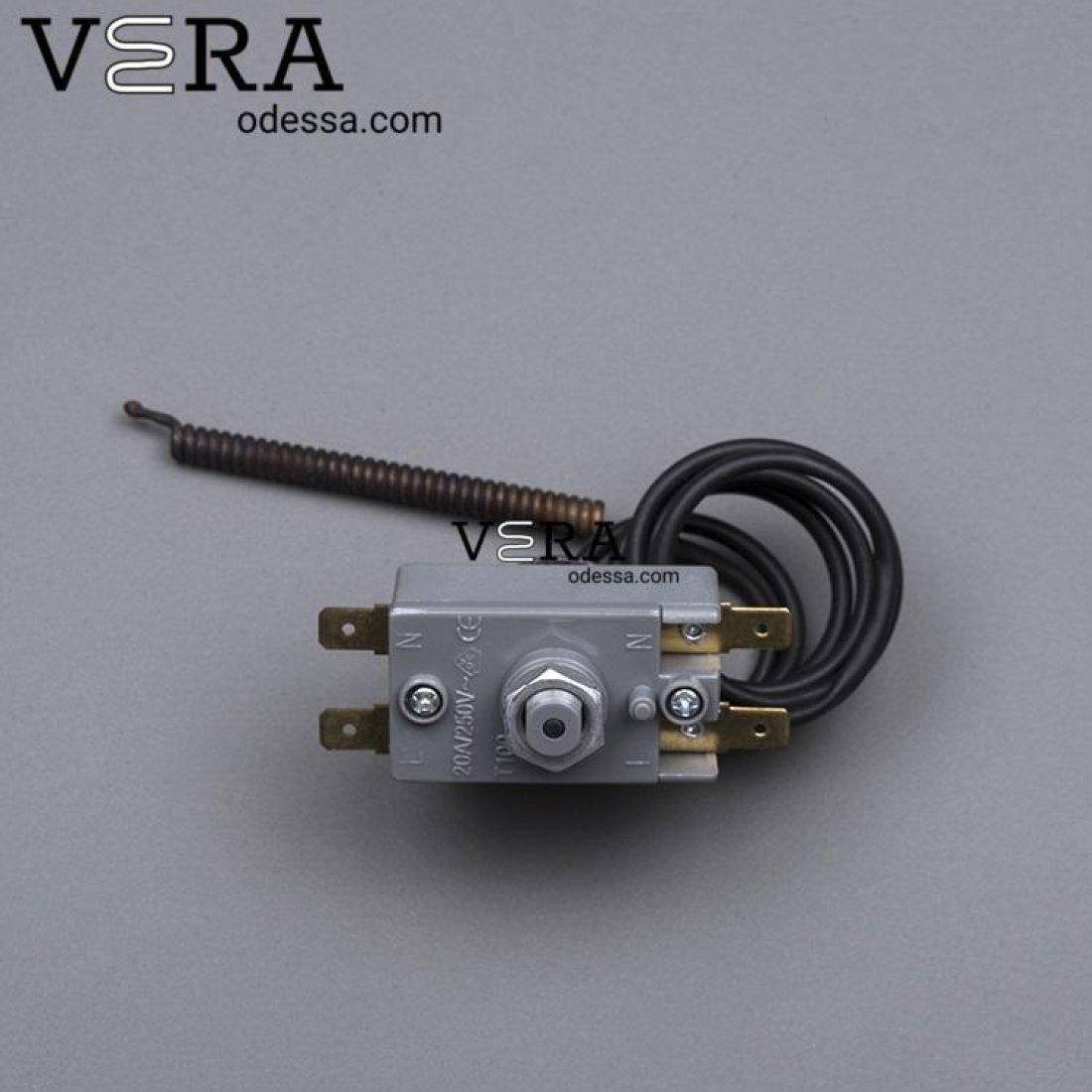 Купить термостат аварийный 20 А 96° для бойлера оптом, фотография 2