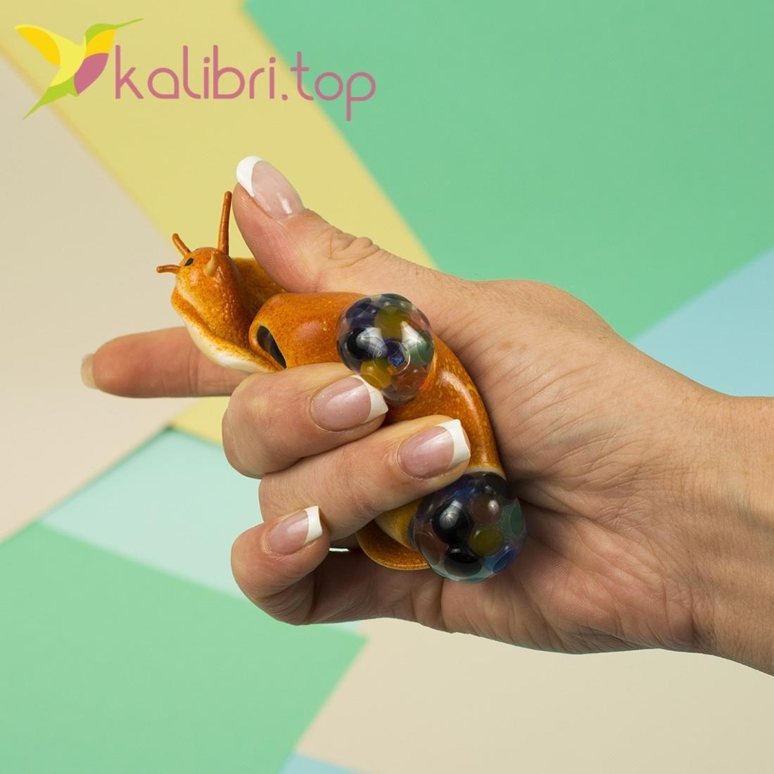 Детская игрушка антистресс Улитка оптом - фото 2