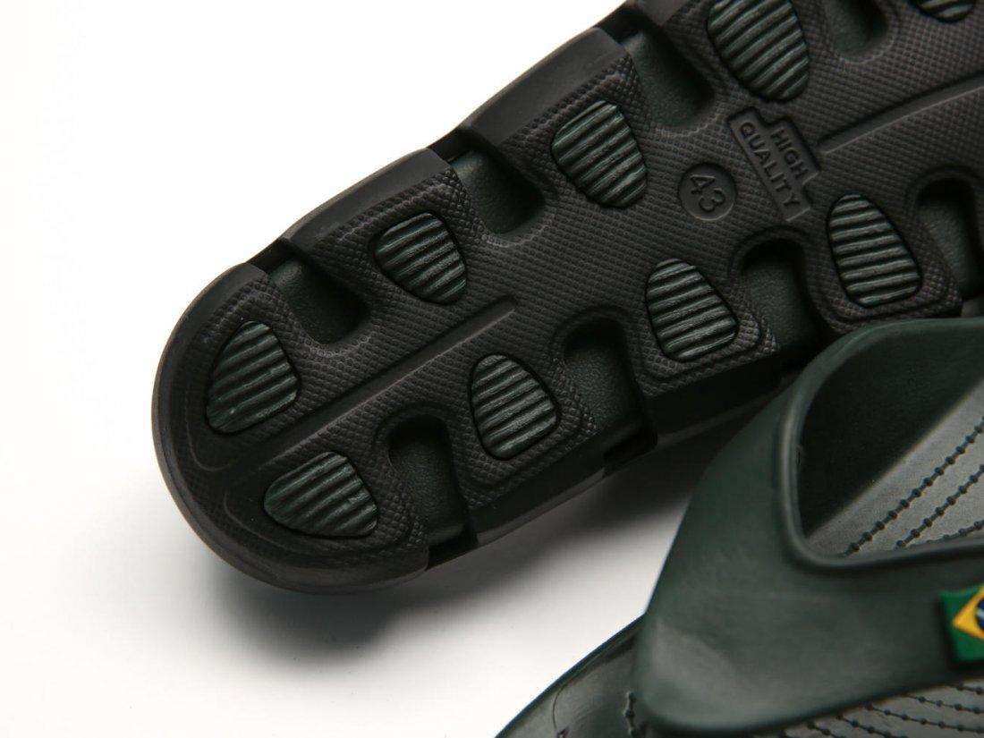 Черные кроксы вьетнамки оптом C31-45, 4rest, мужская обувь оптом, фото 3