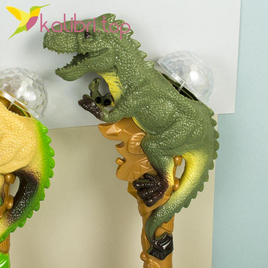 Игрушечные светящиеся микрофоны Динозавры оптом фото 2