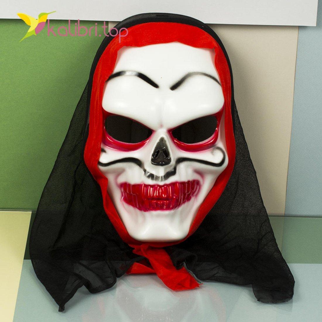 Маска на Хэллоуин череп оптом фото 01