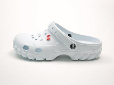 Белые кроксы оптом C08-40, 4rest, женская обувь оптом, фото 1